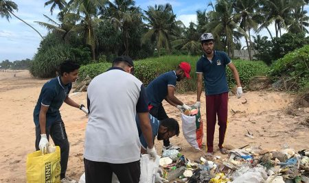 Joining hands with the project aimed at Environmental Protection