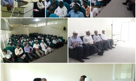 Parent Teacher Meeting (PTM) for the 1st year students of the Faculty of Islamic Studies.
