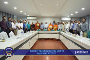 Buddist Leaders Visit NIIS